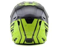 Image 2 for Fly Racing Kinetic K120 Youth Helmet (Hi-Vis/Grey/Black) (Kids S)