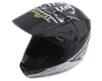 Fly Racing Kinetic K120 Helmet (Black/White/Hi-Vis)