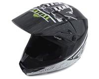 Image 1 for Fly Racing Kinetic K120 Helmet (Black/White/Hi-Vis) (L)