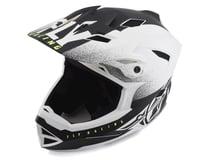 Image 1 for Fly Racing Default Full Face Mountain Bike Helmet (Matte White/Black) (L) (S)