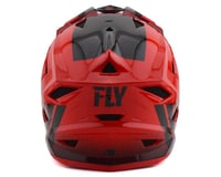 Image 2 for Fly Racing Default Full Face Mountain Bike Helmet (Red/Black) (L)