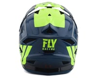 Image 2 for Fly Racing Default Full Face Mountain Bike Helmet (Teal/Hi-Vis Yellow) (Kids L)