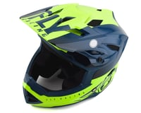 Image 1 for Fly Racing Youth Default Full Face Mountain Bike Helmet (Teal/Hi-Vis Yellow) (Kids M)