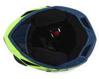Image 3 for Fly Racing Youth Default Full Face Mountain Bike Helmet (Teal/Hi-Vis Yellow) (Kids M)