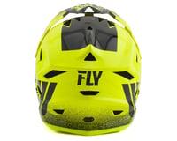 Image 2 for Fly Racing Default Full Face Mountain Bike Helmet (Hi-Vis Yellow/Black) (Kids L)