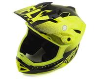 Image 1 for Fly Racing Default Full Face Mountain Bike Helmet (Hi-Vis Yellow/Black) (Kids M)
