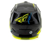 Image 2 for Fly Racing Werx Carbon Full-Face Helmet (Ultra) (Black/Hi-Vis Yellow) (XS)