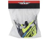 Image 2 for Fly Racing Werx Helmet Visor (Ultra) (Black/Hi-Vis Yellow)