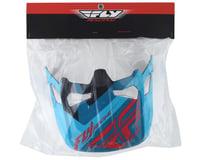 Image 2 for Fly Racing Werx Helmet Visor (Ultra) (Red/Blue/Black)