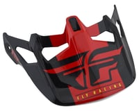 Image 1 for Fly Racing Werx Imprint Visor (Black/Red)