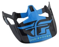 Image 1 for Fly Racing Werx Imprint Visor (Black/Blue)