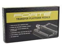 Image 4 for Forte Transfer Platform Flat Pedals (Black)