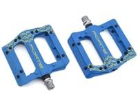 Forte Transfer Platform Flat Pedals (Blue) | alsopurchased