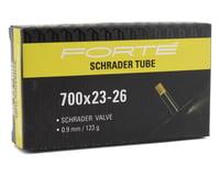 Image 2 for Forte 700c Schrader Tube (700 x 23-28)