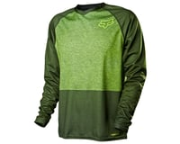 Image 1 for Fox Racing Indicator Long Sleeve Cycling Jersey '14 (Heather Green)