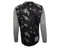 Fox Indicator Print Long Sleeve Jersey (Grey)