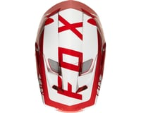 Image 5 for Fox Racing Rampage Pro Carbon Full Face Helmet (Moth Red/White)