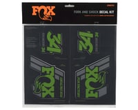 Image 2 for Fox Suspension Heritage Decal Kit for Forks and Shocks (Green)