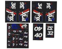 Fox Suspension Heritage Decal Kit for Forks & Shocks (Red/White/Blue)
