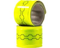 FuelBelt Neon Reflective Snap Bands: Yellow, Pair