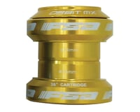 "FSA Orbit MX Threadless Headset (Gold) (1-1/8"")"