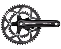 FSA Vero Compact Crankset (Black) (2 x 9 Speed) (JIS Square Taper)