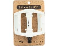 "Image 3 for Fyxation Gates Pedals - Platform, Plastic, 9/16"", White"