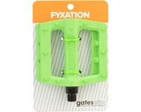 Image 3 for Fyxation Gates Slim Pedals Green