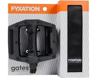 Fyxation Gates Pedals & Strap Kit (Black)