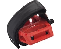 "Fyxation Pedal and Strap Kit Pedals - Platform, Composite/Plastic, 9/16"", Red"