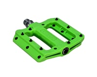 "Fyxation Mesa MP Pedals - Platform, Composite/Plastic, 9/16"", Green"