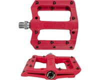 Fyxation Mesa MP Sealed Nylon Pedals w/Replaceable Pins (Red) (9/16)