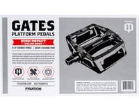 "Image 2 for Fyxation Gates Pedals - Platform, Composite/Plastic, 9/16"", Assorted"