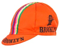 Giordana Team Brooklyn w/ Tape Cycling Cap (Orange)