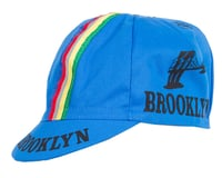 Giordana Brooklyn Cap with Stripes (Azzurro Blue)