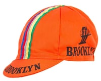 Giordana Brooklyn Cap w/ Stripes (Orange)