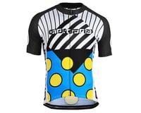 Image 1 for Giordana Motivo 2 Jersey (Blue/Black/White/Yellow) (L)