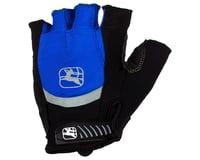 Giordana Strada Gel Short Finger Gloves (Blue)