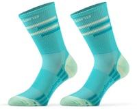 Giordana FR-C Tall Lines Socks (Sea Green)