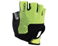 Giro Bravo Jr Short Finger Gloves (Highlighter Yellow/Black)