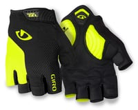 Giro Strade Dure Supergel Short Finger Gloves (Yellow/Black)