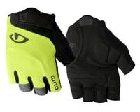 Giro Bravo Gel Gloves (Yellow/Black) (XL)