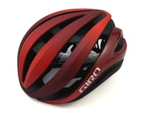 Giro Aether Spherical Road Helmet (Matte Bright Red/Dark Red)