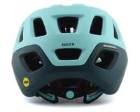 Image 2 for Giro Radix Women's Mountain Helmet w/ MIPS (Matte Cool Breeze/True Spruce) (S)