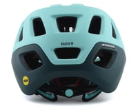 Image 2 for Giro Radix Women's Mountain Helmet w/ MIPS (Matte Cool Breeze/True Spruce) (M)