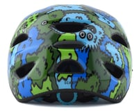 Image 2 for Giro Kids's Scamp Bike Helmet(Blue/Green Creature Camo) (S)