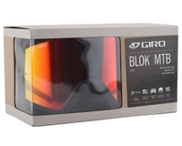 Image 4 for Giro Blok Mountain Goggles (Hyper Black/Red) (Amber Lens)