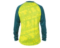 Image 2 for Giro Men's Roust Long Sleeve Jersey (Citron Green Fanatic) (XL)