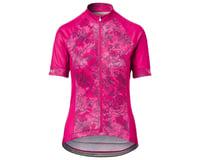 Giro Women's Chrono Sport Short Sleeve Jersey (Pink Floral) (M) | alsopurchased
