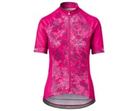 Image 1 for Giro Women's Chrono Sport Short Sleeve Jersey (Pink Floral) (L)